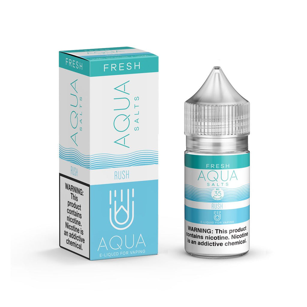 Aqua Salts Nicotine Salt E-Juice - 30ml - Rush