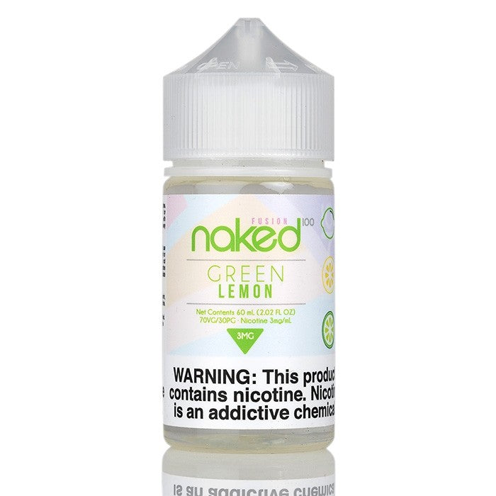 Naked 100 Nicotine E-Liquids - 60ml - Green Lemon