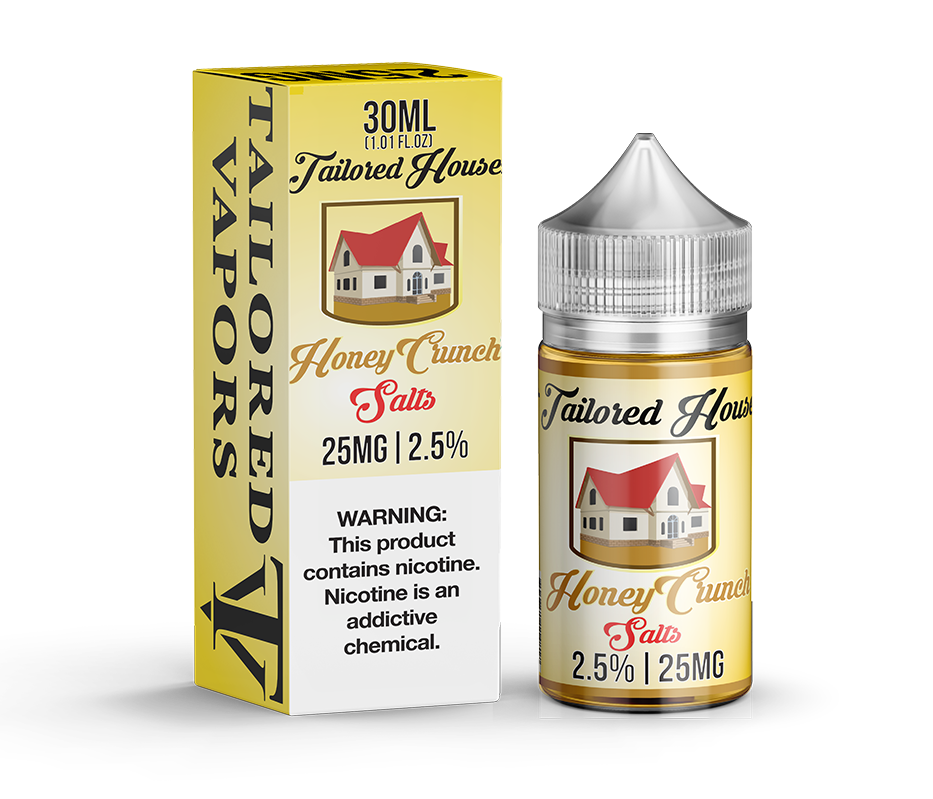 Tailored House Nicotine Salt E-Juice - 30ml - Honey Crunch