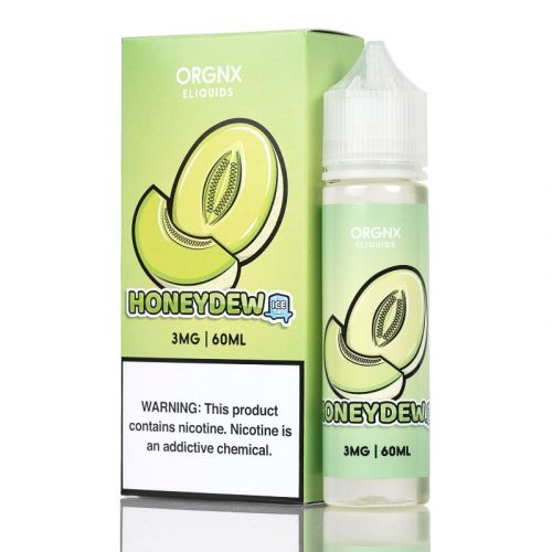 Orgnx E-Liquid Nicotine - 60ml - Honeydew Ice