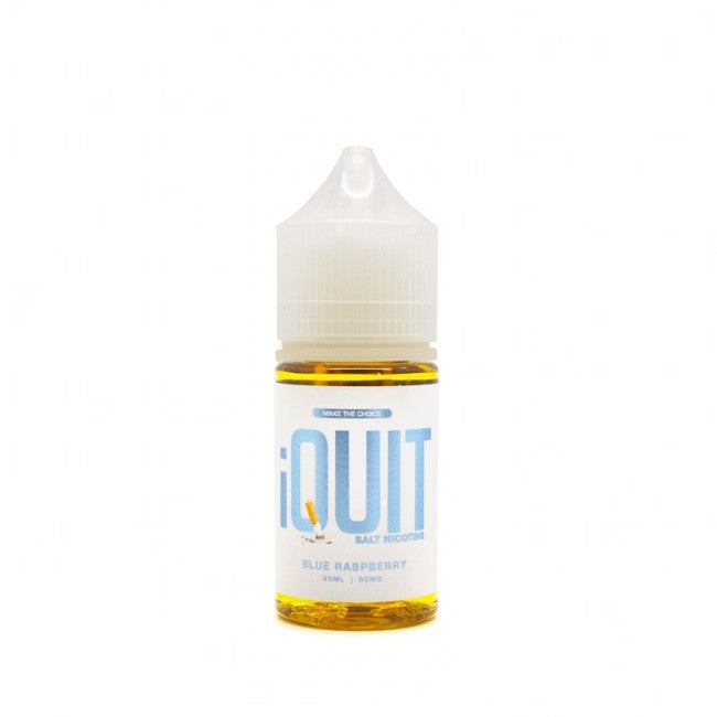 iQuit Salt Nic Nicotine Salt E-Juice - 30ml - Blue Raspberry