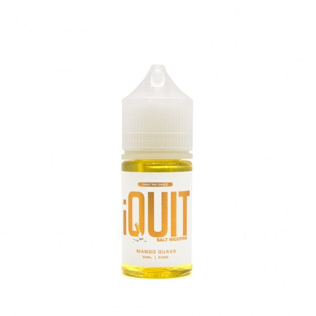 iQuit Salt Nic Nicotine Salt E-Juice - 30ml - Mango Guava
