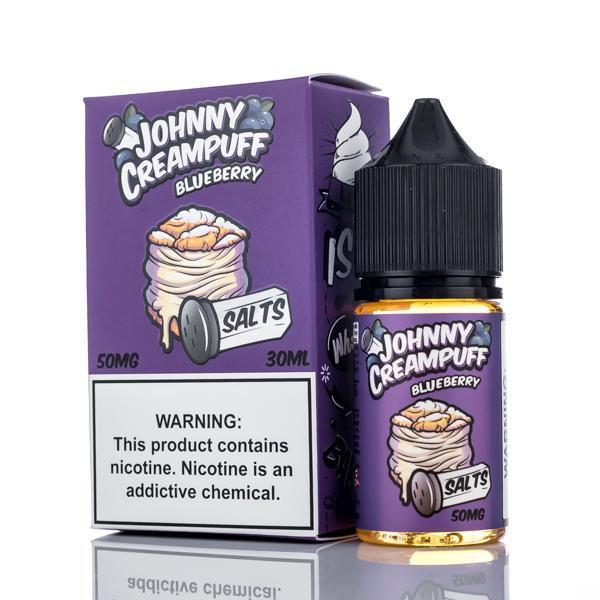 Johnny Creampuff Nicotine Salt E-Juice - 30ml - Blueberry
