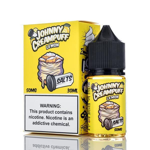Johnny Creampuff Nicotine Salt E-Juice - 30ml - Lemon