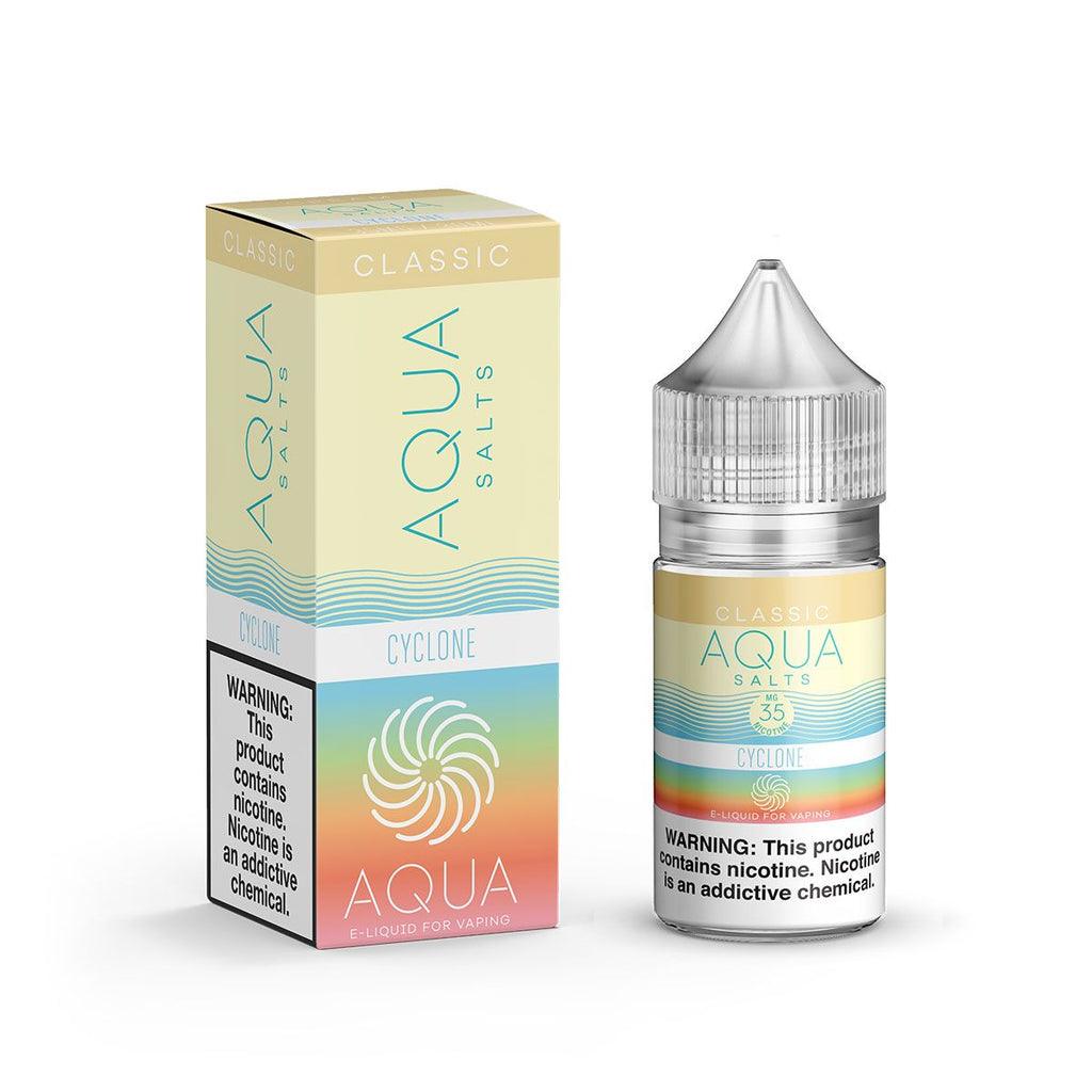 Aqua Salts Nicotine Salt E-Juice - 30ml - Cyclone