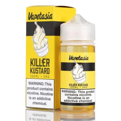Killer Kustard by Vapetasia Nicotine | TheNicSalt