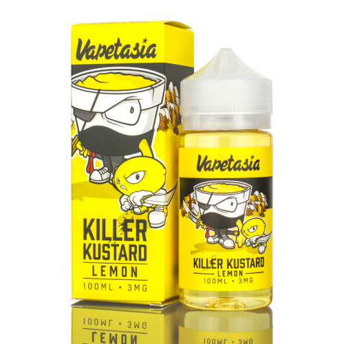 Killer Kustard Strawberry by Vapetasia Nicotine | TheNicSalt