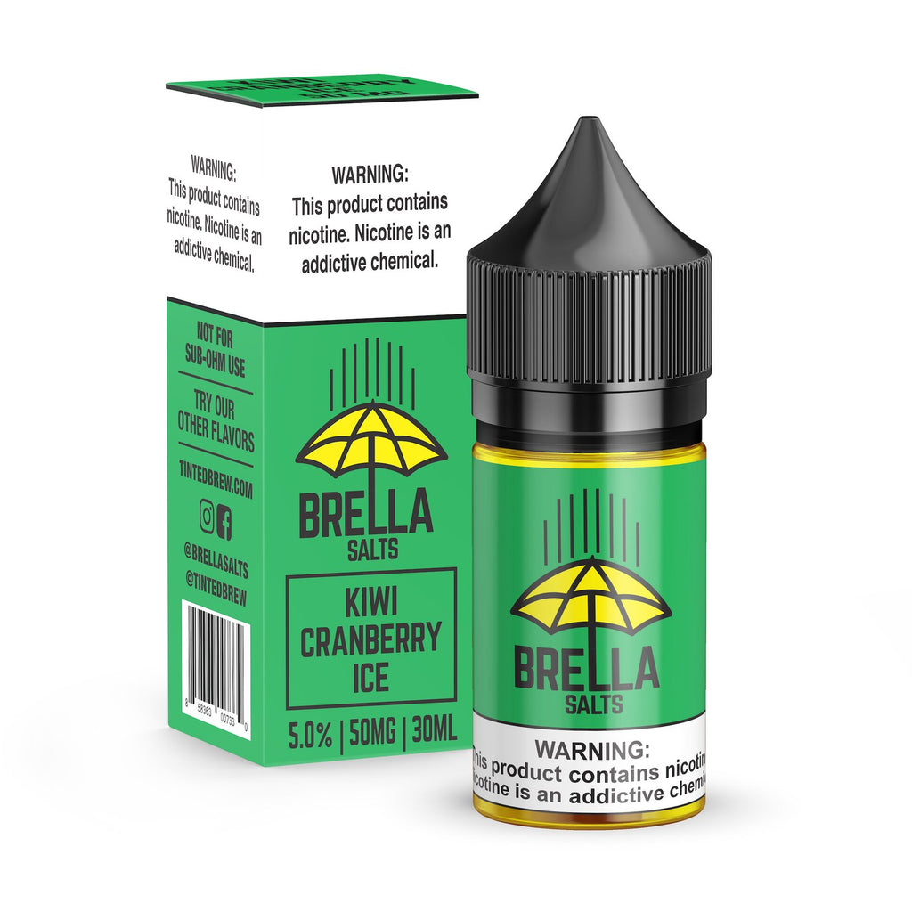 Kiwi Cranberry Ice by Brella Salts Nicotine Salt E-Liquid