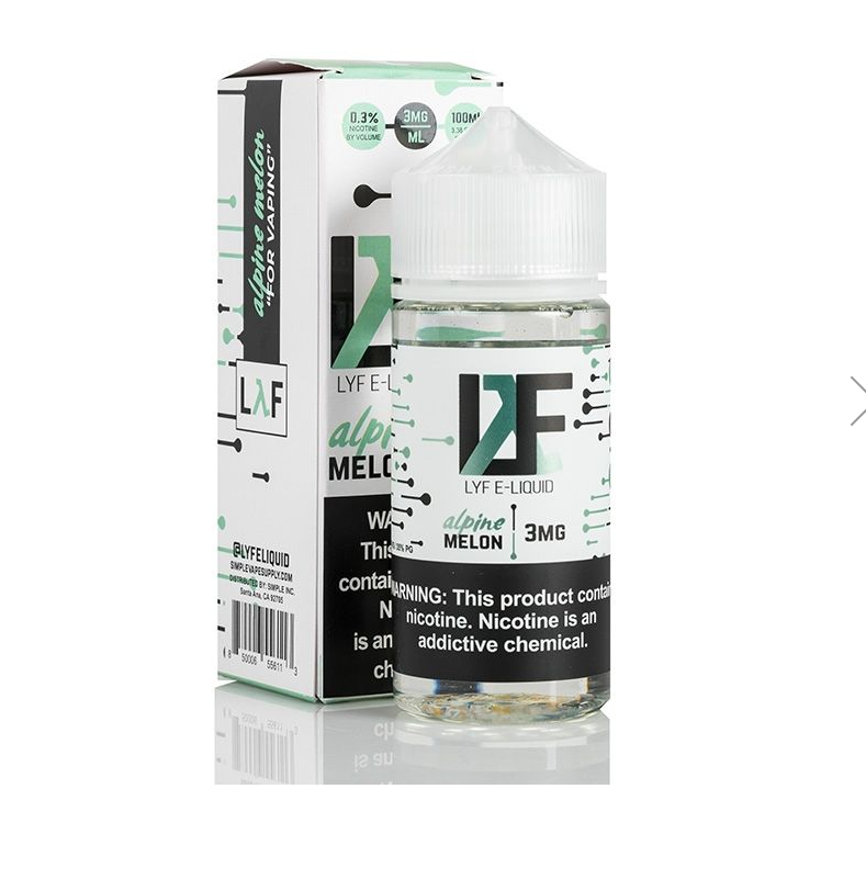 LYF E-Liquid Salts Nicotine Salt E-Juice - 30ml - Citrus Ice