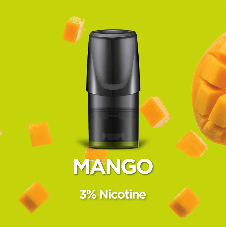 Relx Replacement Pods (Pack of 3) Mango