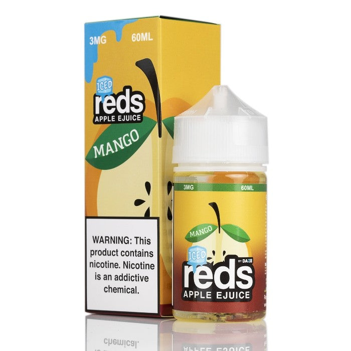 7Daze Nicotine E-Liquid - 60ml - Mango Iced Red's Apple