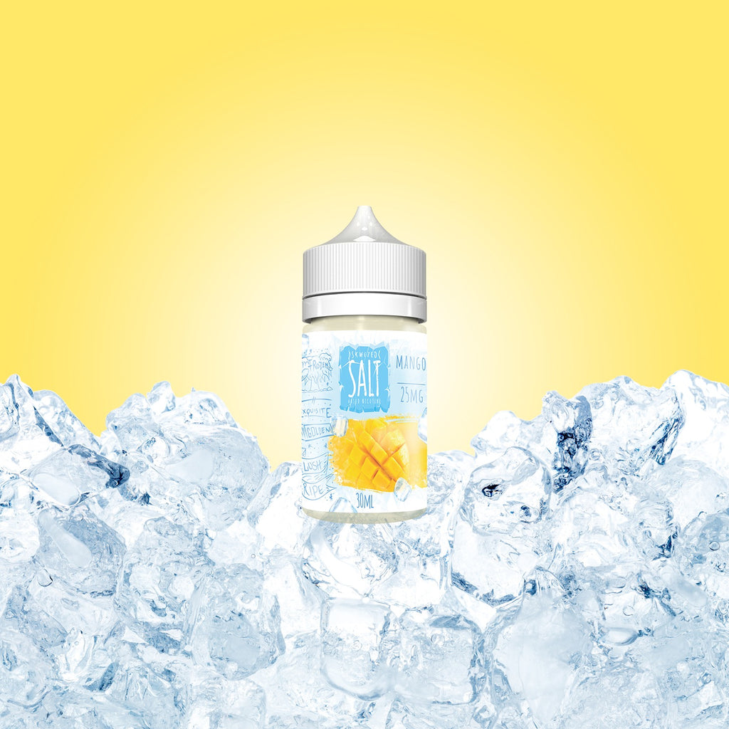 Skwezed Nicotine Salt E-Juice - 30ml - Mango ICE