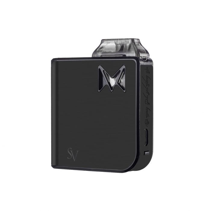 Black Metal Smoking Vapor Mi-Pod AIO Refillable Nictoine Salt Pod System