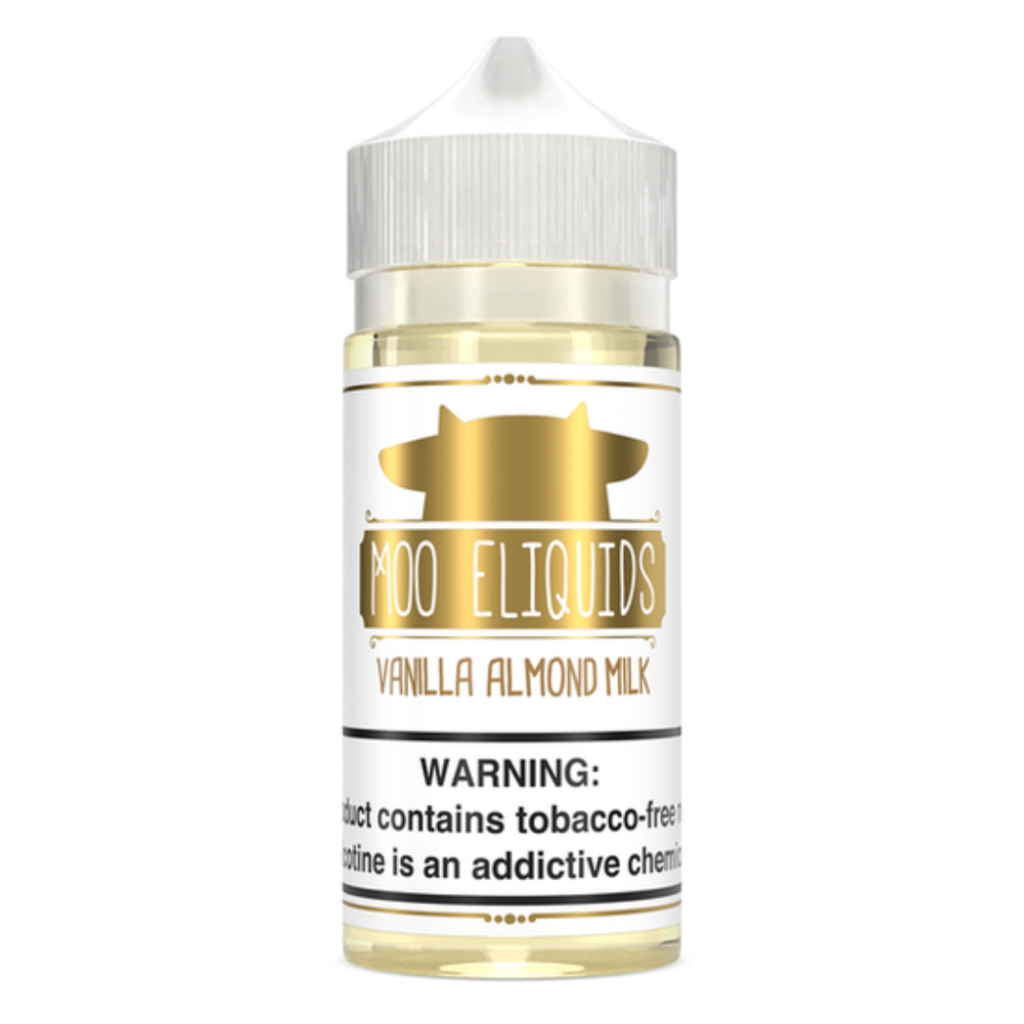Moo Eliquid Nicotine E-Juice - 100ml - Vanilla Almond Milk