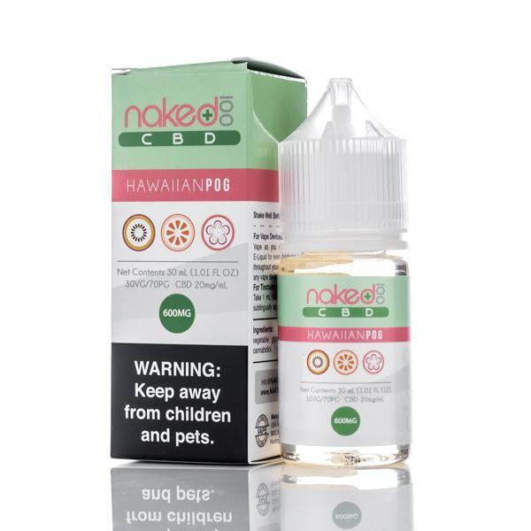 Naked 100 CBD Vape Juice - 30ml - Hawiian Pog