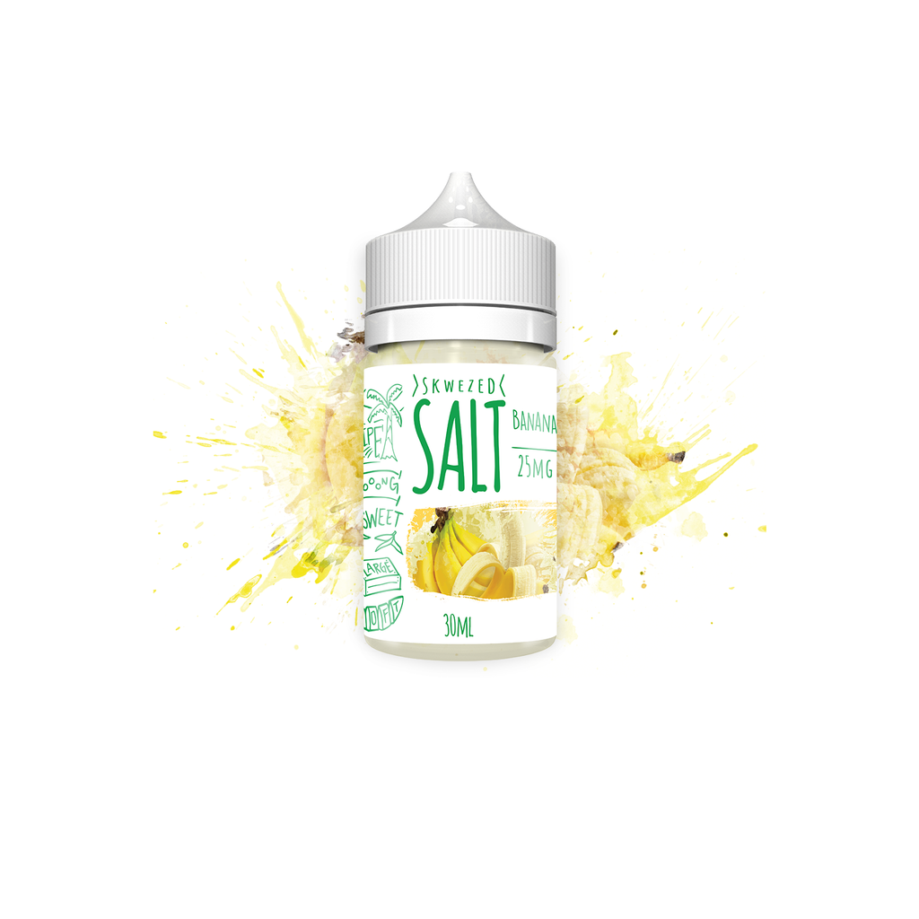 Skwezed Nicotine Salt E-Juice - 30ml - Banana