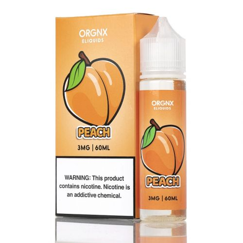 Orgnx E-Liquid Nicotine - 60ml - Peach