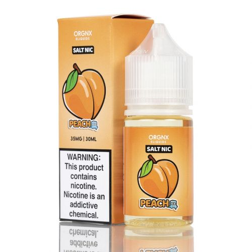ORGNX E-Liquids Nicotine Salt - 30ml - Peach Ice