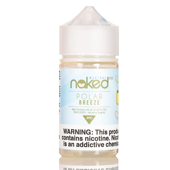 Naked 100 Nicotine E-Liquids - 60ml - Polar Freeze