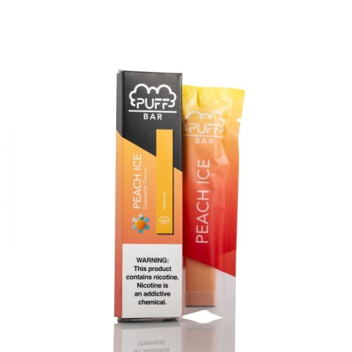 Puff Bar Peach Ice Disposable Vape