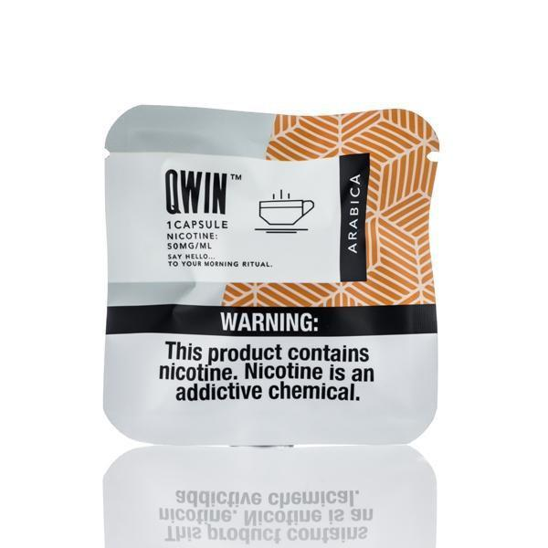Arabica Qwin Pre-filled Nic Pods