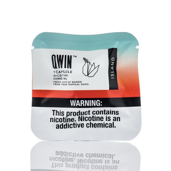 Island Qwin Pre-filled Nic Pods