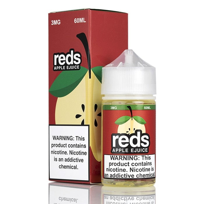 7Daze Nicotine E-Liquid - 60ml - Red's Apple