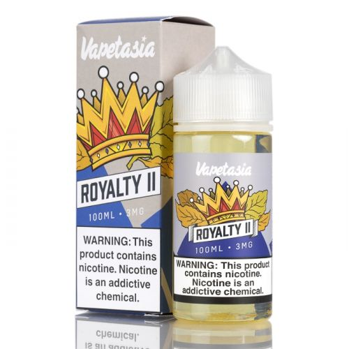 Vapetasia Nicotine - 100ml - Royalty ll