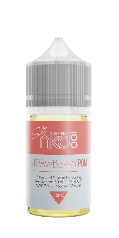 Naked 100 Nicotine Salt E-Juice - 30ml - Strawberry Pom (Brain Freeze)