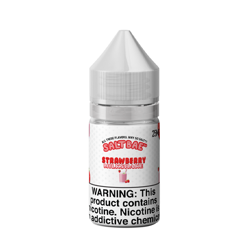 Saltbae50 Nicotine Salt E-Juice - 30ml - Strawberry Milkshake