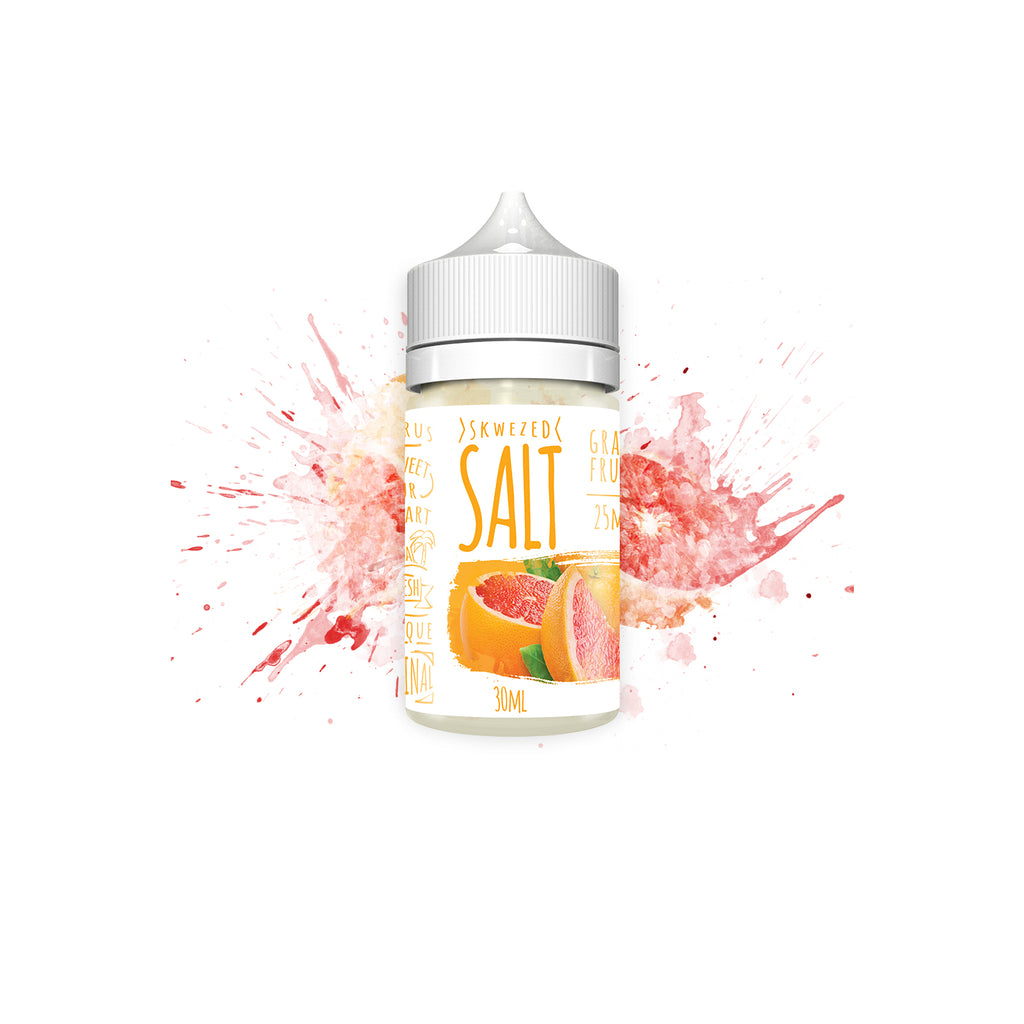 Skwezed Nicotine Salt E-Juice - 30ml - Grapefruit