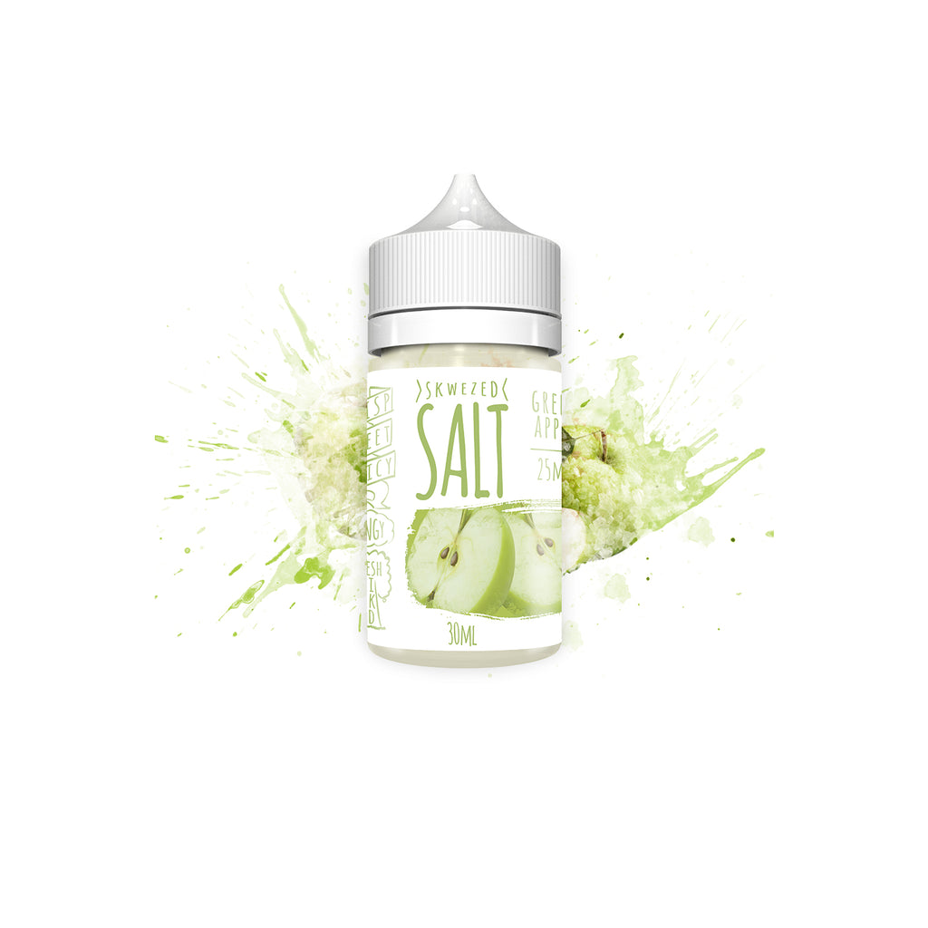 Skwezed Nicotine Salt E-Juice - 30ml - Green Apple