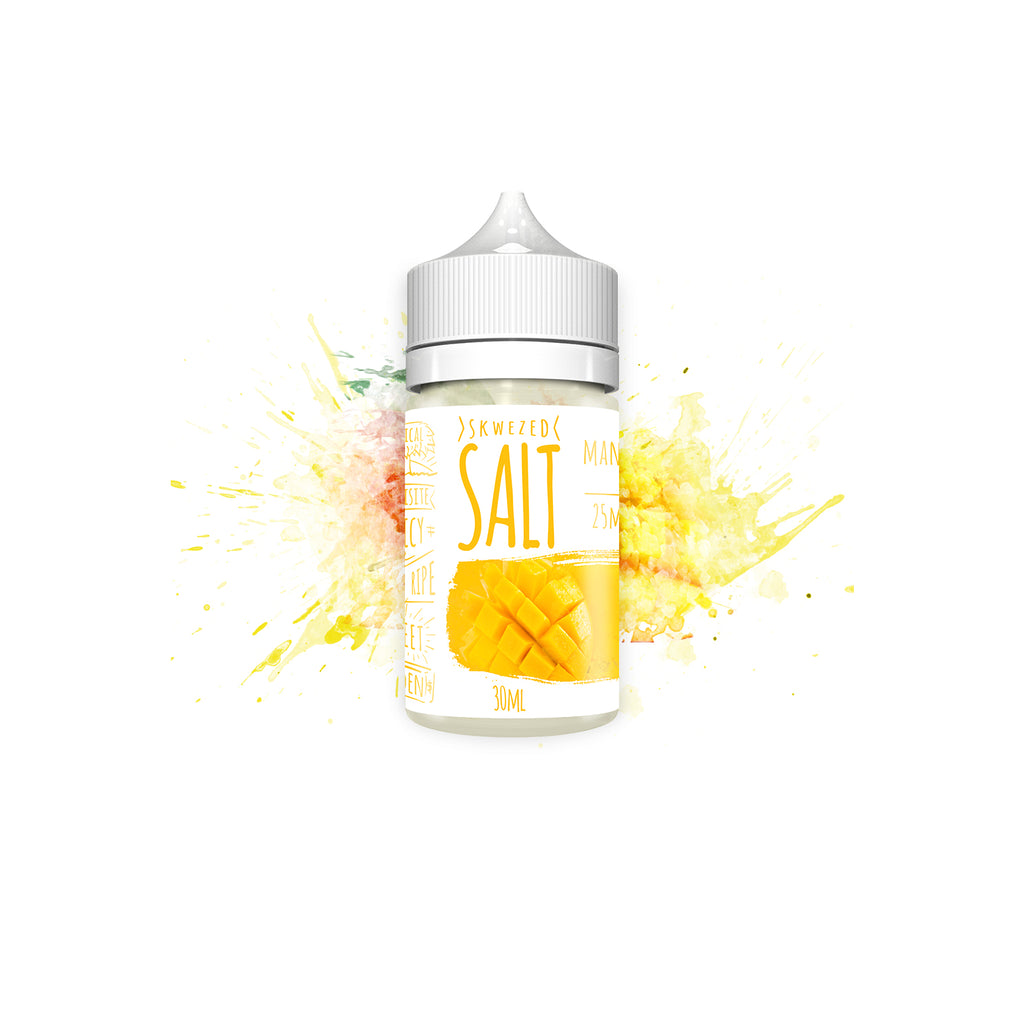 Skwezed Nicotine Salt E-Juice - 30ml - Mango