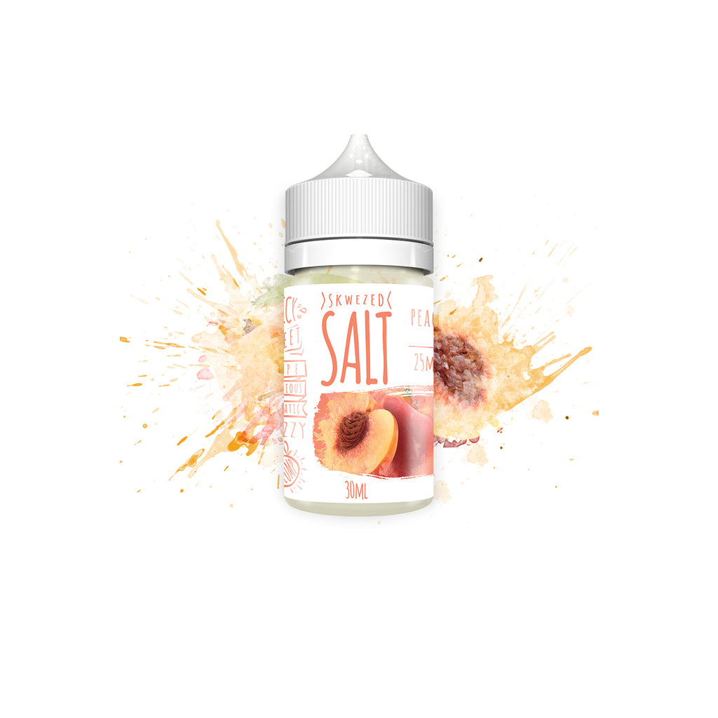 Skwezed Salt Nicotine Salt E-Juice - 30ml - Peach