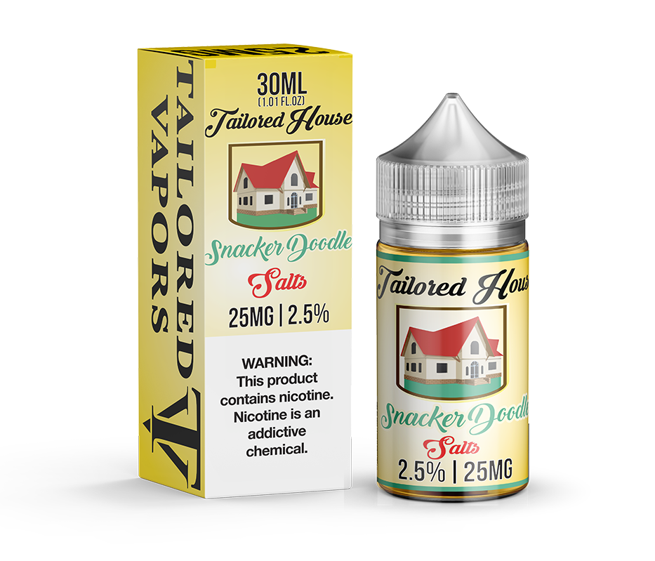 Tailored House Nicotine Salt E-Juice - 30ml - Snacker Doodle