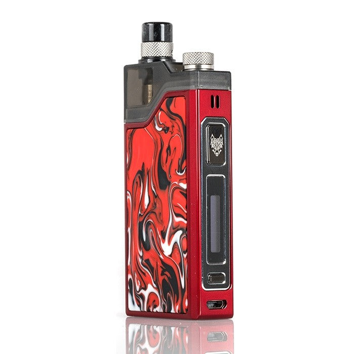 Lava Red SnowWolf Wocket 25w Pod System