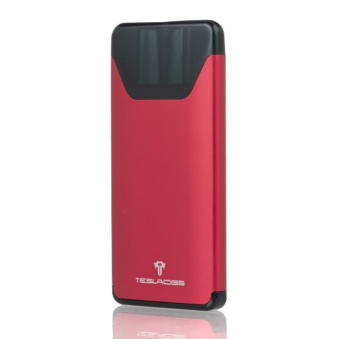 Red Tesla Silver Ultra Portable Pod System