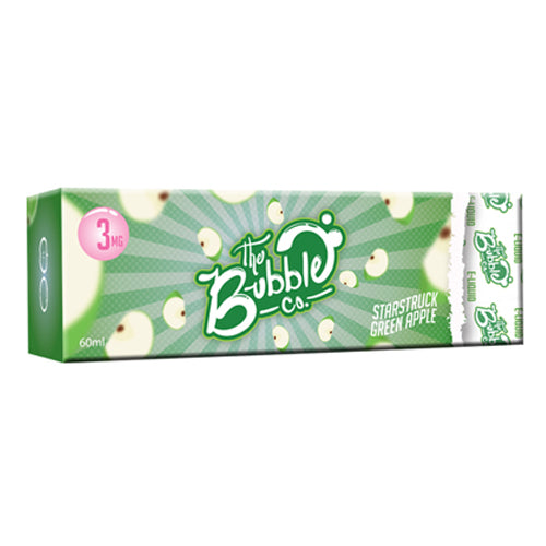 The Bubble Co Nicotine E-Liquid - 60ml - Green Apple