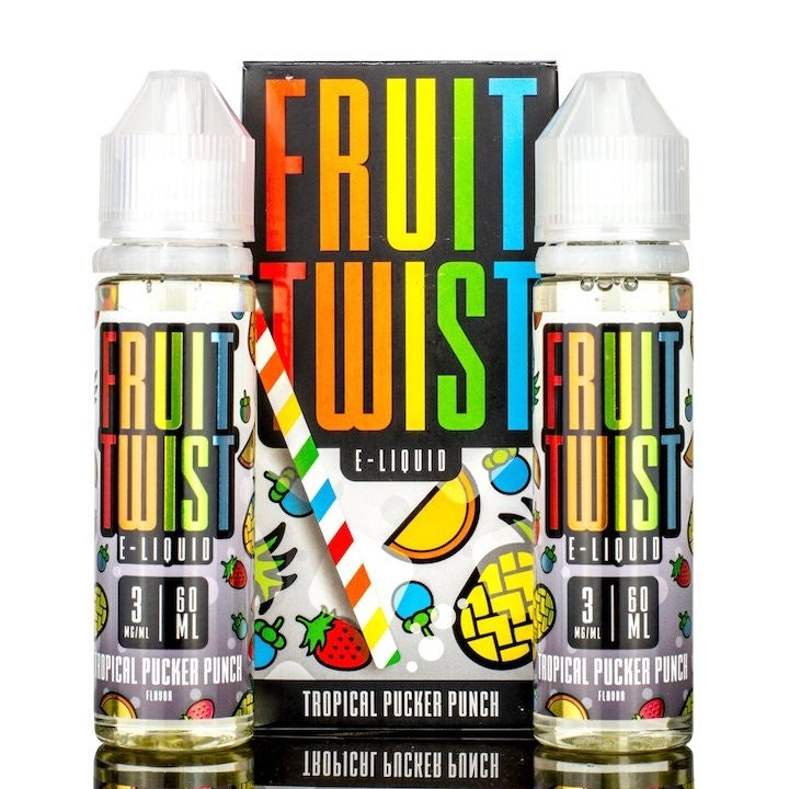 Fruit Twist E-Juice - Tropical Pucker Punch