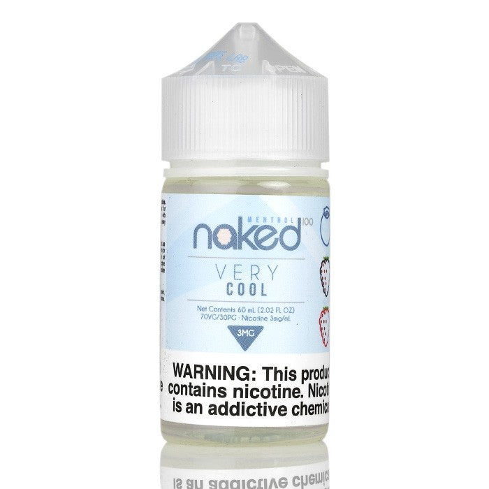 Naked 100 Nicotine E-Liquids - 60ml - Very Cool