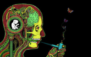 Creativity and Smoking is associated with each other