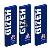 GIZEH Original Blue Rolling Paper Regular Size - 50 Leaves