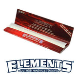 Elements Red King Size Slim 32 Leaves Rolling/Smoking papers