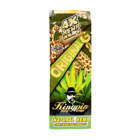 KingPin Hemp Blunt Wrap - Original Flavor