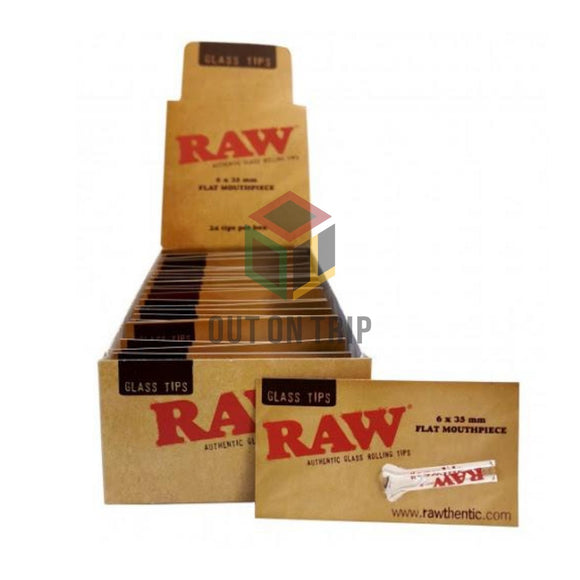 RAW Glass Reusable Filter Tips