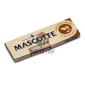 MASCOTTE Extra Thin Rolling Paper 1 1/4 - 50 Leaves