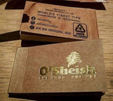 O'SHEISH MICRO Brown ROLLING PAPER FILTER TIPS/ROACH
