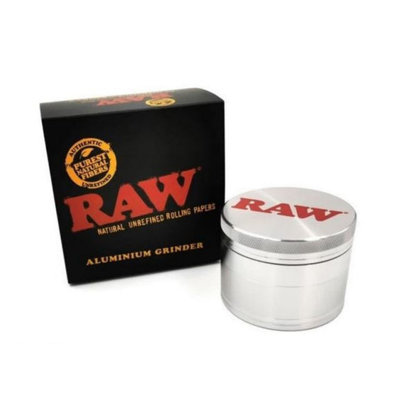 RAW Classic Aluminium Large Herb Crusher - 56MM