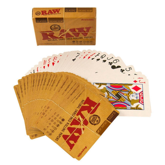 RAW Playing Cards - Brown