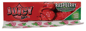 JUICY Raspberry King Size Slim 32 leaves Flavored Rolling Papers - Outontrip